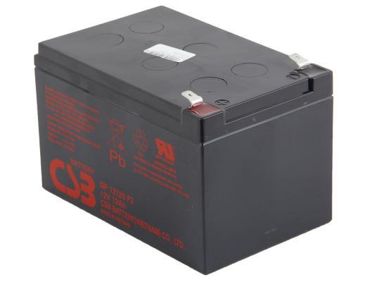 Батарея CSB GP12120 F2 12V/12AH батарея для ибп csb hr 1221w f2 12в 5ач