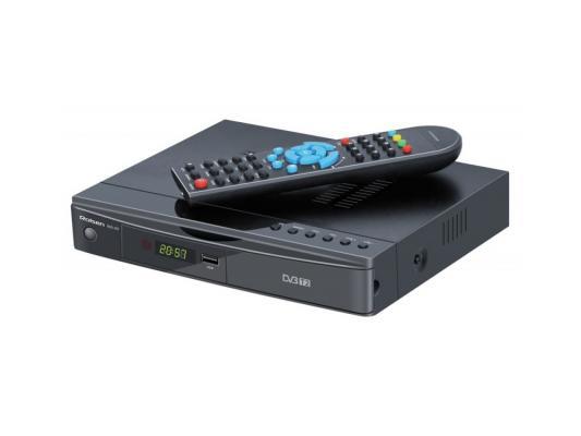 Тюнер цифровой DVB-T2 Rolsen RDB-602 Черный слот CI+ для САМ модуля HDMI YPbPr RCA SPDIF