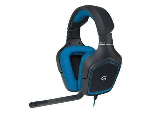 Проводная гарнитура Logitech Gaming Headset G430 (981-000537) стоимость