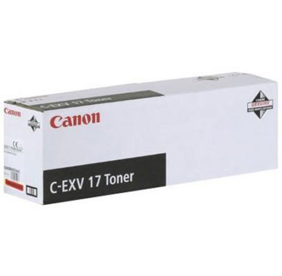 Фото - Тонер-картридж Canon C-EXV17M для iRC 4080i/4580i. Пурпурный. 30000 страниц. фотобарабан canon c exv16 17y для canon ir c5180 5180i 5185i 4580 4580i 4080 4080i clc 4040 5151 желтый 60000 страниц