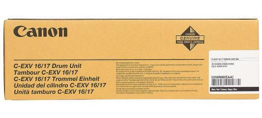 лучшая цена Фотобарабан Canon C-EXV 16/17Bk для iR-C5180 / 5180i / 5185i / 4580 / 4580i / 4080 / 4080i /CLC-4040 / 5151. Чёрный. 70000 страниц.