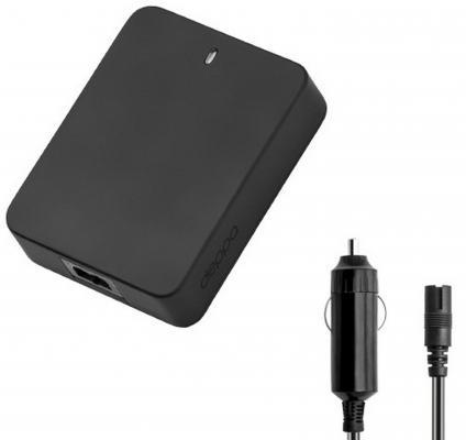 Автомобильный блок питания для ноутбука Deppa универсальный 90 Вт 12 коннекторов USB 1A 21102