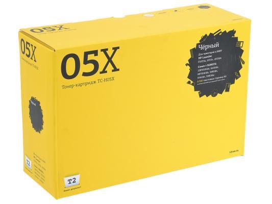 Картридж T2 CE505X для HP LaserJet P2055d P2055dn 6500стр TC-H05X картридж t2 для hp tc h85a laserjet p1102 1102w pro m1132 m1212nf m1214nfh canon i sensys lbp6000 cartrige 725 1600 стр с чипом