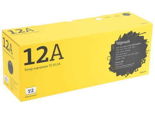 Картридж T2 Q2612A для LaserJet 1010 1012 1015 1018 1020 1022 3015 3020 3030 M1005mfp TC-H12A картридж nv print q2612a для hp lj 1010 1012 1015 1020 1022 3015 3020 3030 черный nv q2612a