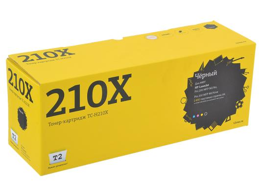 Картридж T2 CF210X №131X для LaserJet Pro 200 M251 MFP M276 1200стр. черный TC-H210X