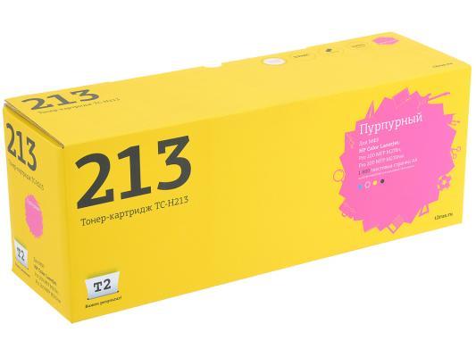 Картридж T2 CF213A №131A для HP LJ Pro 200 M251 M276 1800стр. пурпурный TC-H213 картридж profiline pl cf212a 131a 731 для laserjet pro 200 m251 mfp m276 hp 618 1800 стр желтый