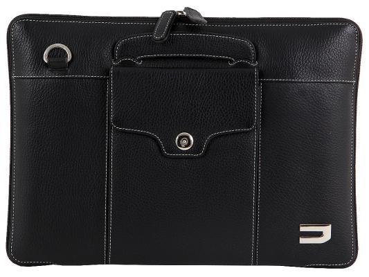 купить Сумка для ноутбука 13 Urbano Compact Brief кожа черный UZRBA-01 онлайн
