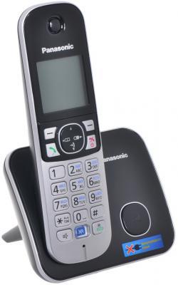 Радиотелефон DECT Panasonic KX-TG6811RUB черный радиотелефон