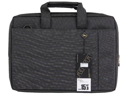 """Сумка для ноутбука 15"""" Riva 8231 полиэстер черный"""
