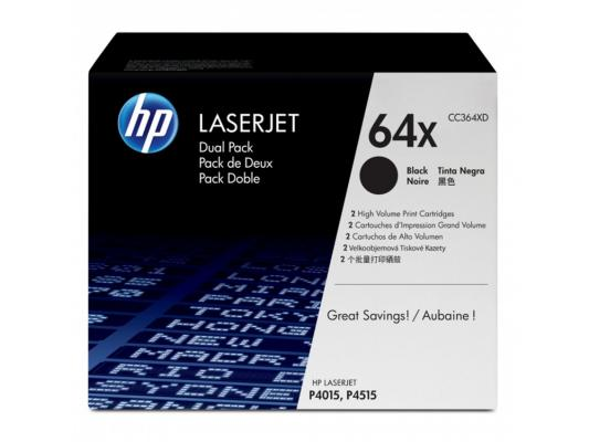 Картридж HP CC364XD для LaserJet P4015 P4515 48000стр 95% new original laserjet formatter board for hp pro200 m251 m251dn 251nw cf153 60001 cf152 60001 printer part on sale