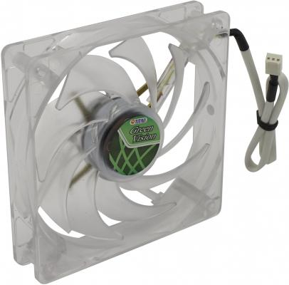 Вентилятор Titan TFD-12025GT12Z 120 мм Green Vision цена и фото