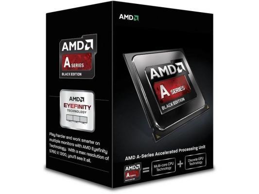 Процессор AMD A8 X4 6600K {3.5/4Mb} (AD660KWOHLBOX) BOX