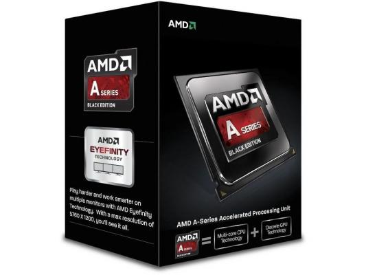 Процессор AMD A10 X4-6800K <Socket FM2> (4.1GHz, 4Mb) Box (AD680KWOHLBOX)