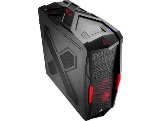 Корпус ATX Aerocool Strike-X Xtreme Black Edition Без БП чёрный красный EN52025