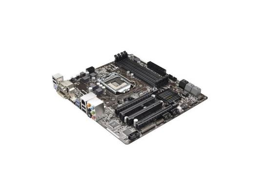 Материнская плата ASRock B85M Pro4 <1150 Intel B85 4xDDR3 2xPCI-E 16x 2xPCI 2xSATAII 4xSATAIII 7.1 Sound Glan mATX Retail>