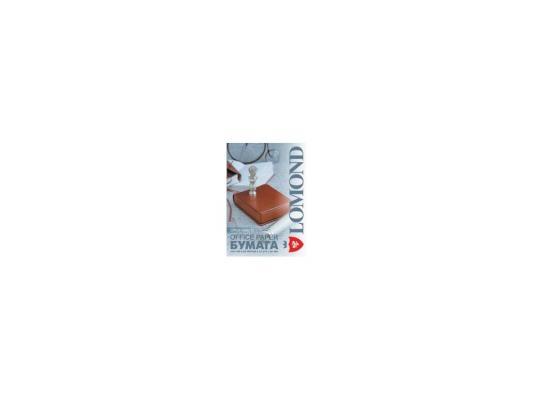 Бумага Lomond Office A4 80г/кв.м 500л 0101005