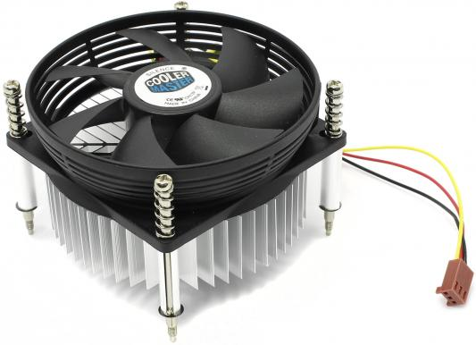 Кулер для процессора Cooler Master DP6-9GDSB-0L-GP Socket 1150/1155/1156 cooler master dp6 9gdsb pl gp 2600об мин