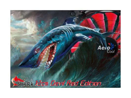 Вентилятор Aerocool Shark Devil Red Edition 120 мм (EN55437)