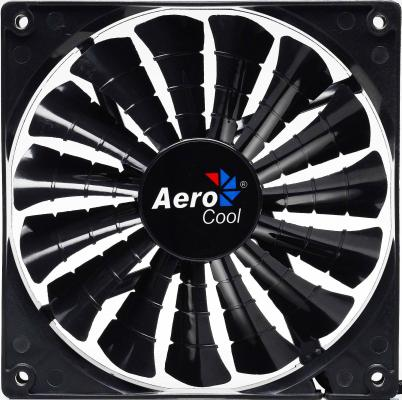 Вентилятор Aerocool Shark Black Edition 140 мм (EN55451)