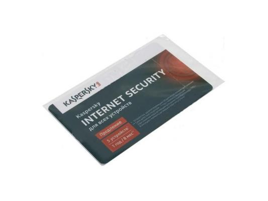 Программное обеспечение Kaspersky Internet Security Multi-Device продление лицензии на 12 мес на 5ПК (KL1941ROEFR)