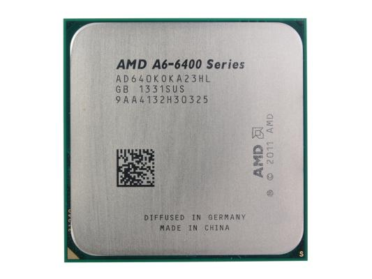 Процессор AMD A6-6400K <Socket FM2> OEM (AD640KOKA23HL) процессор amd a4 4000 ad4000okhlbox socket fm2 box