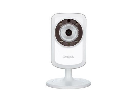 """Камера IP D-Link DCS-933L CMOS 1/5"""" 640 x 480 H.264 MJPEG RJ-45 LAN Wi-Fi белый"""