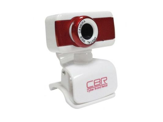 Веб-Камера CBR CW-832M красный веб камера 24