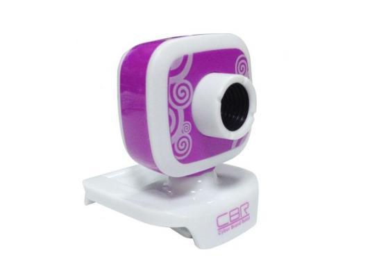 Веб-Камера CBR CW-835M фиолетовый web камера cbr cw 835m silver