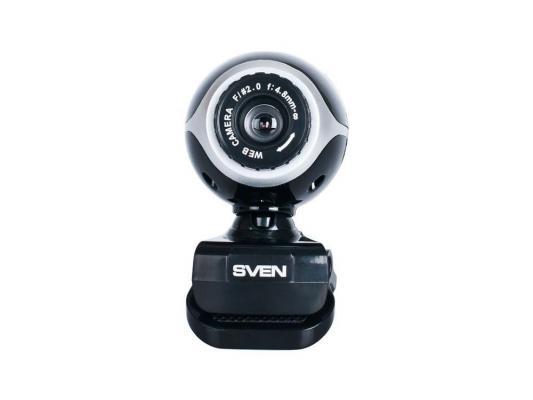 Веб-Камера SVEN IC-300 черно-серебристый веб камера sven ic 310