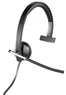 купить  Проводная гарнитура Logitech Headset H650e MONO (981-000514)  онлайн