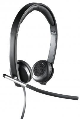 купить  Проводная гарнитура Logitech Headset H650e Stereo (981-000519)  онлайн