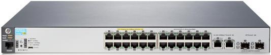 Коммутатор HP 2530-24-PoE+ (J9779A) коммутатор hp 2530 8g poe j9774a