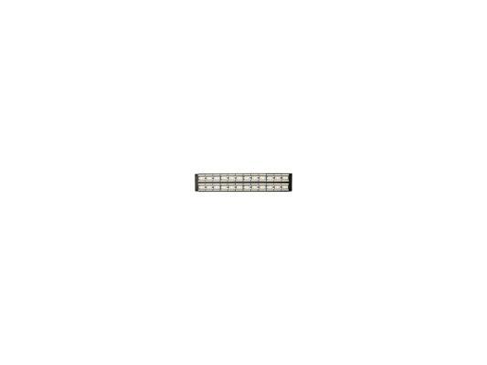 "Патч-панель 5E категории UTP 48 портов RJ-45 2U 19"" цена и фото"