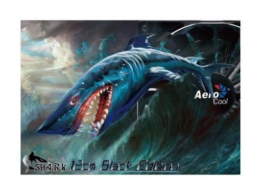 Вентилятор Aerocool Shark Black Edition 120 мм (EN55413)