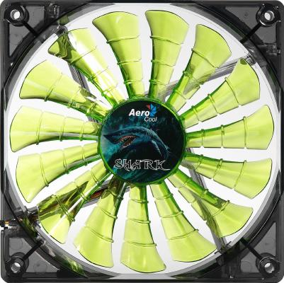 Вентилятор Aerocool Shark Evil Green Edition 120 мм (EN55697)