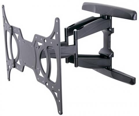 Кронштейн Tuarex OLIMP-8001 Черный до 15-55 5 степеней свободы VESA 400х400мм до 45кг кронштейн tuarex olimp 8002 черный 37 63 1 степень свободы vesa 700х500мм до 80кг