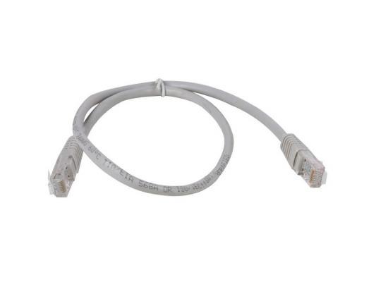 Патч-корд 5E категории Aopen ANP511 UTP 0.5м серый