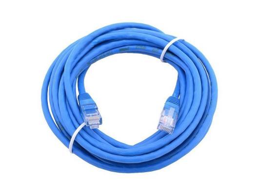 Патч-корд Aopen ANP511 5E категории UTP 15м синий