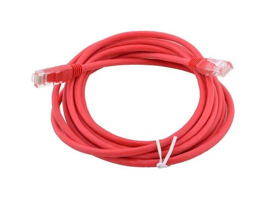Патч-корд 5E категории Aopen ANP511 UTP 1м красный
