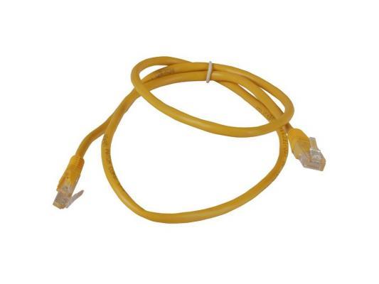 Патч-корд 5E категории Aopen ANP511 UTP 1м желтый
