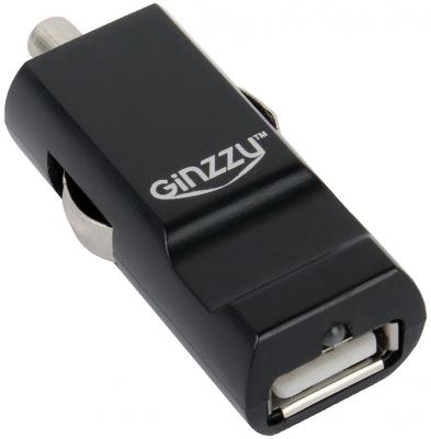 Автомобильное зарядное устройство Ginzzu GA-4310UB 2.1A черный автомобильное зарядное устройство ginzzu ga 4324ub 3xusb 4 8a черный
