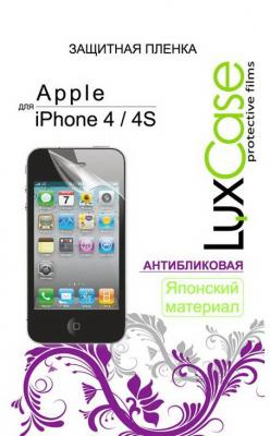 Защитная плёнка антибликовая Lux Case - для iPhone 4 iPhone 4S