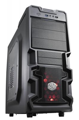 Корпус ATX Cooler Master K380 Без БП чёрный RC-K380-KWN1 корпус cooler master elite 120 advanced black rc 120a kkn1 w o psu