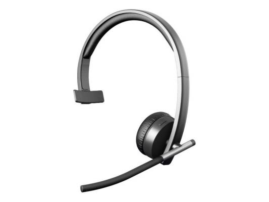 Беспроводная гарнитура Logitech Wireless Headset H820e MONO (981-000512) гарнитура logitech wireless headset h760 981 000266