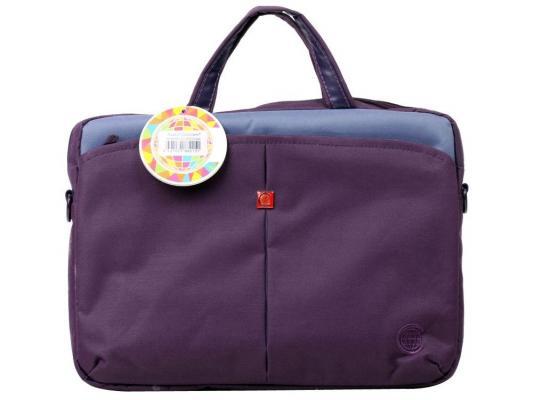 "Сумка для ноутбука 13"" Continent CC-013 Violet нейлон"