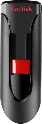 Внешний накопитель 128GB USB Drive <USB 2.0> SanDisk Cruzer Glide SDCZ60-128G-B35 usb накопитель corsair 128gb voyager go cmfvg 128gb черный cmfvg 128gb