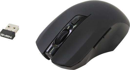 Мышь беспроводная Sven RX-350 чёрный USB dimanche 134
