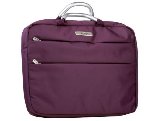 """Сумка для ноутбука 15.6"""" Jet.A LB15-04 полиэстер фиолетовый"""