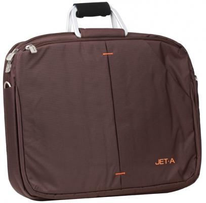 "Сумка для ноутбука 15.6"" Jet.A LB15-28 Brown полиэстер"