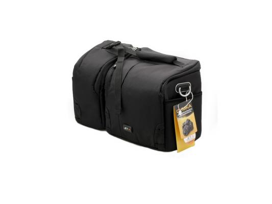 Фото - Сумка Jet.A CB-12 для фотоаппарата нейлон, черный замок для сумки just tsa309 tsa